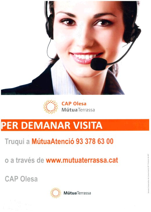 Call Center Mutua Terrassa